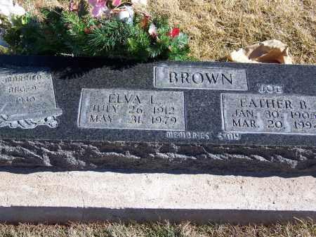 BROWN, EATHER B - Apache County, Arizona | EATHER B BROWN - Arizona Gravestone Photos