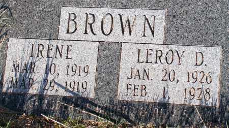 BROWN, LEROY D. - Apache County, Arizona | LEROY D. BROWN - Arizona Gravestone Photos