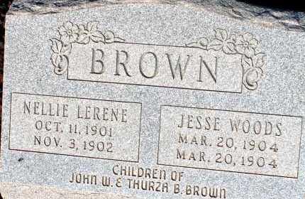 BROWN, JESSE WOODS - Apache County, Arizona | JESSE WOODS BROWN - Arizona Gravestone Photos