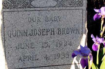 BROWN, QUINN JOSEPH - Apache County, Arizona | QUINN JOSEPH BROWN - Arizona Gravestone Photos