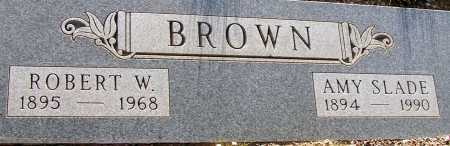BROWN, ROBERT W. - Apache County, Arizona | ROBERT W. BROWN - Arizona Gravestone Photos