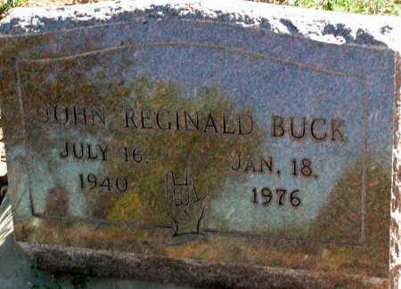 BUCK, JOHN REGINALD - Apache County, Arizona | JOHN REGINALD BUCK - Arizona Gravestone Photos