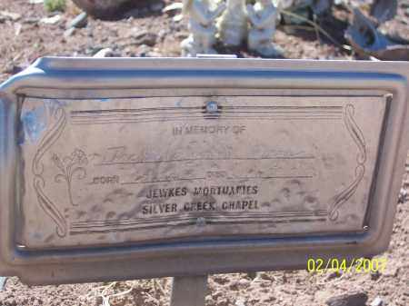 "BURGE, EUGENIA ""JACKIE"" - Apache County, Arizona 