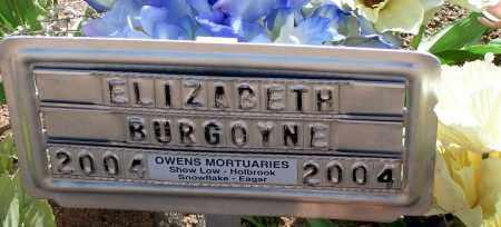 BURGOYNE, ELIZABETH - Apache County, Arizona | ELIZABETH BURGOYNE - Arizona Gravestone Photos
