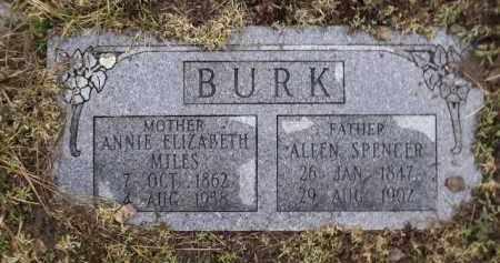 MILES BURK, ANNIE ELIZABETH - Apache County, Arizona | ANNIE ELIZABETH MILES BURK - Arizona Gravestone Photos