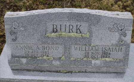 BURK, WILLIAM ISAIAH - Apache County, Arizona | WILLIAM ISAIAH BURK - Arizona Gravestone Photos