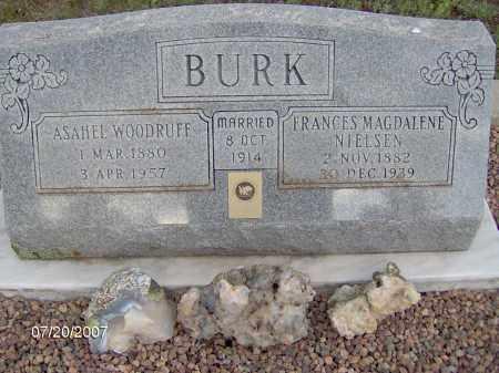 BURK, ASAHEL WOODRUFF - Apache County, Arizona   ASAHEL WOODRUFF BURK - Arizona Gravestone Photos