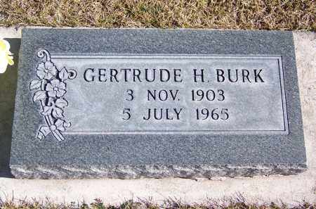 BURK, GERTRUDE H - Apache County, Arizona | GERTRUDE H BURK - Arizona Gravestone Photos