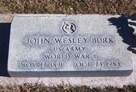 BURK, JOHN WESLEY - Apache County, Arizona | JOHN WESLEY BURK - Arizona Gravestone Photos