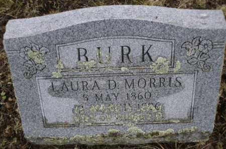 MORRIS BURK, LAURA D. - Apache County, Arizona | LAURA D. MORRIS BURK - Arizona Gravestone Photos