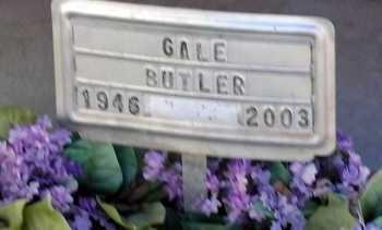 BUTLER, GALE - Apache County, Arizona | GALE BUTLER - Arizona Gravestone Photos