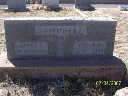 CAMPBELL, JAMES T. - Apache County, Arizona | JAMES T. CAMPBELL - Arizona Gravestone Photos