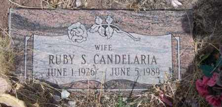 CANDELARIA, RUBY S. - Apache County, Arizona | RUBY S. CANDELARIA - Arizona Gravestone Photos