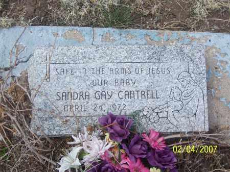CANTRELL, SANDRA GAY - Apache County, Arizona | SANDRA GAY CANTRELL - Arizona Gravestone Photos