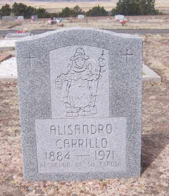 CARRILLO, ALISANDRO - Apache County, Arizona   ALISANDRO CARRILLO - Arizona Gravestone Photos