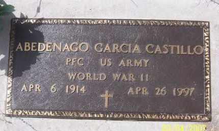 CASTILLO, ABEDENAGO GARCIA - Apache County, Arizona   ABEDENAGO GARCIA CASTILLO - Arizona Gravestone Photos