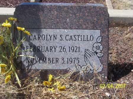 CASTILLO, CAROLYN S. - Apache County, Arizona   CAROLYN S. CASTILLO - Arizona Gravestone Photos