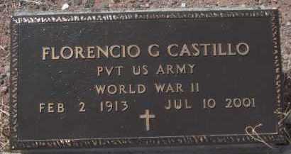 CASTILLO, FLORENCIO G. - Apache County, Arizona | FLORENCIO G. CASTILLO - Arizona Gravestone Photos