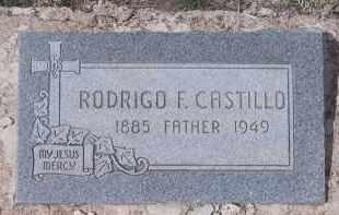 CASTILLO, RODRIGO F. - Apache County, Arizona | RODRIGO F. CASTILLO - Arizona Gravestone Photos