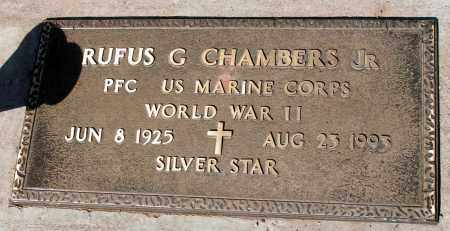 CHAMBERS, RUFUS G., JR. - Apache County, Arizona   RUFUS G., JR. CHAMBERS - Arizona Gravestone Photos