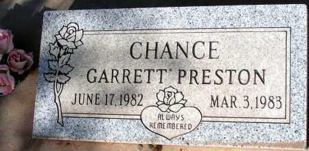 CHANCE, GARRETT PRESTON - Apache County, Arizona | GARRETT PRESTON CHANCE - Arizona Gravestone Photos