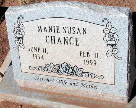 CHANCE, MANIE SUSAN - Apache County, Arizona | MANIE SUSAN CHANCE - Arizona Gravestone Photos