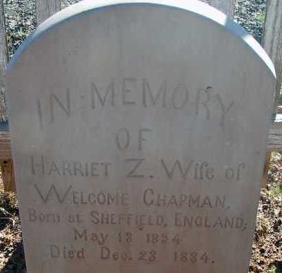 CHAPMAN, HARRIET Z. - Apache County, Arizona | HARRIET Z. CHAPMAN - Arizona Gravestone Photos