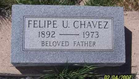 CHAVEZ, FELIPE U. - Apache County, Arizona | FELIPE U. CHAVEZ - Arizona Gravestone Photos
