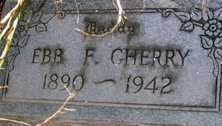 CHERRY, EBB F. - Apache County, Arizona | EBB F. CHERRY - Arizona Gravestone Photos