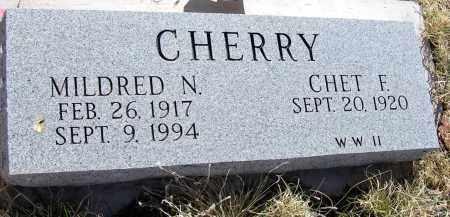 CHERRY, MILDRED N. - Apache County, Arizona   MILDRED N. CHERRY - Arizona Gravestone Photos