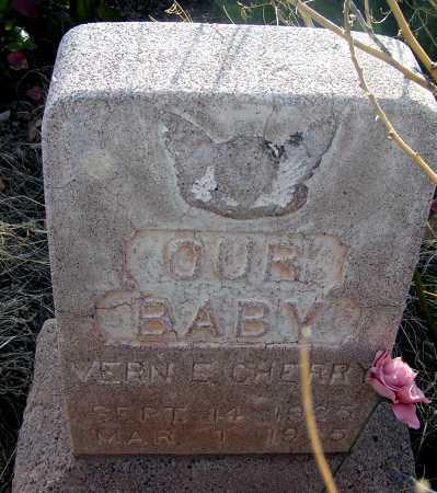 CHERRY, VERN E. - Apache County, Arizona | VERN E. CHERRY - Arizona Gravestone Photos