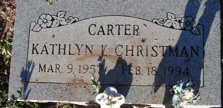 CHRISTMAN, KATHLYN L. - Apache County, Arizona | KATHLYN L. CHRISTMAN - Arizona Gravestone Photos