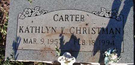 CARTER CHRISTMAN, KATHLYN L. - Apache County, Arizona | KATHLYN L. CARTER CHRISTMAN - Arizona Gravestone Photos