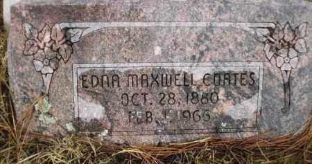 COATES, EDNA MAXWELL - Apache County, Arizona   EDNA MAXWELL COATES - Arizona Gravestone Photos