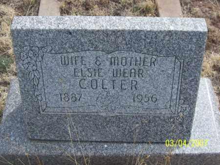 COLTER, ELSIE - Apache County, Arizona | ELSIE COLTER - Arizona Gravestone Photos