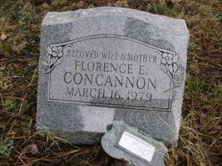 CONCANNON, FLORENCE E. - Apache County, Arizona | FLORENCE E. CONCANNON - Arizona Gravestone Photos