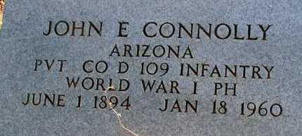 CONNOLLY, JOHN E. - Apache County, Arizona | JOHN E. CONNOLLY - Arizona Gravestone Photos