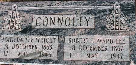 CONNOLLY, MATILDA LEE - Apache County, Arizona | MATILDA LEE CONNOLLY - Arizona Gravestone Photos