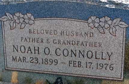 CONNOLLY, NOAH O. - Apache County, Arizona | NOAH O. CONNOLLY - Arizona Gravestone Photos