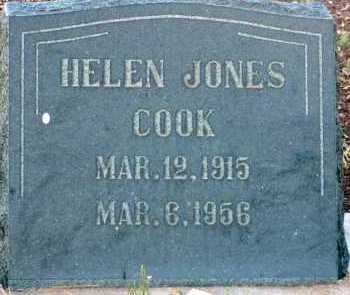 JONES COOK, HELEN - Apache County, Arizona | HELEN JONES COOK - Arizona Gravestone Photos