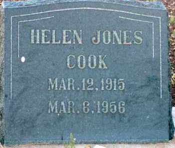 COOK, HELEN - Apache County, Arizona | HELEN COOK - Arizona Gravestone Photos