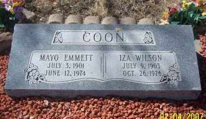 COON, IZA WILSON - Apache County, Arizona | IZA WILSON COON - Arizona Gravestone Photos