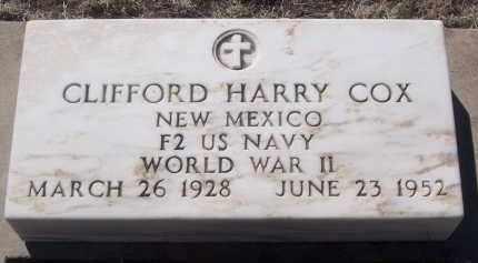 COX, CLIFFORD HARRY - Apache County, Arizona   CLIFFORD HARRY COX - Arizona Gravestone Photos