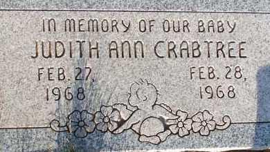 CRABTREE, JUDITH ANN - Apache County, Arizona | JUDITH ANN CRABTREE - Arizona Gravestone Photos