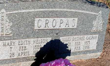 NELSON CROPAS, MARY EDITH - Apache County, Arizona | MARY EDITH NELSON CROPAS - Arizona Gravestone Photos