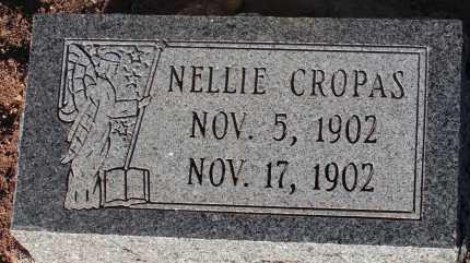 CROPAS, NELLIE - Apache County, Arizona | NELLIE CROPAS - Arizona Gravestone Photos