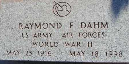 DAHM, RAYMOND F. - Apache County, Arizona | RAYMOND F. DAHM - Arizona Gravestone Photos