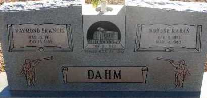 RABAN DAHM, NORENE - Apache County, Arizona | NORENE RABAN DAHM - Arizona Gravestone Photos