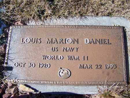 DANIEL, LOUIS MARION - Apache County, Arizona | LOUIS MARION DANIEL - Arizona Gravestone Photos