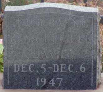 DAVIE, LENA LUCILLE - Apache County, Arizona | LENA LUCILLE DAVIE - Arizona Gravestone Photos